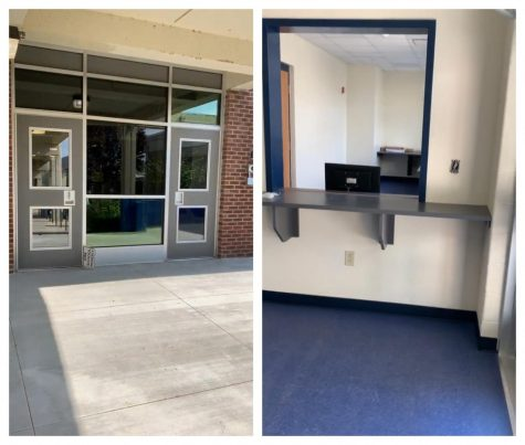HC gets a new front entrance