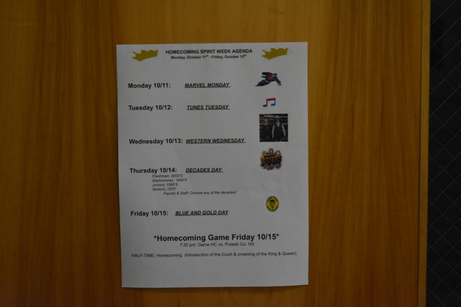 HC+students+and+staff+prepare+for+Spirit+Week